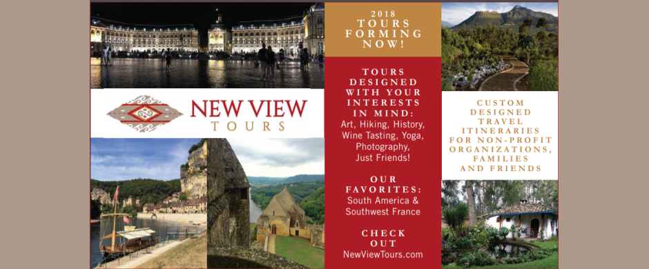 New View Tours in 2018