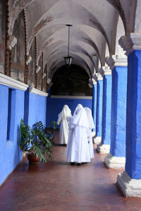 Nuns in Cathedral
